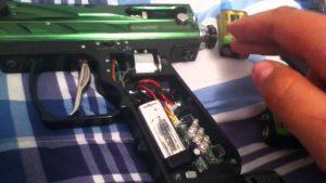 paintball gun batteries